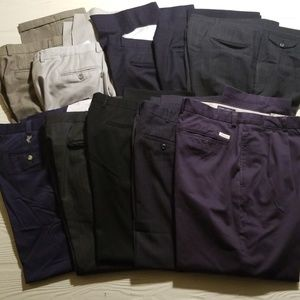 Other - Mens Dress Pants lot of 10